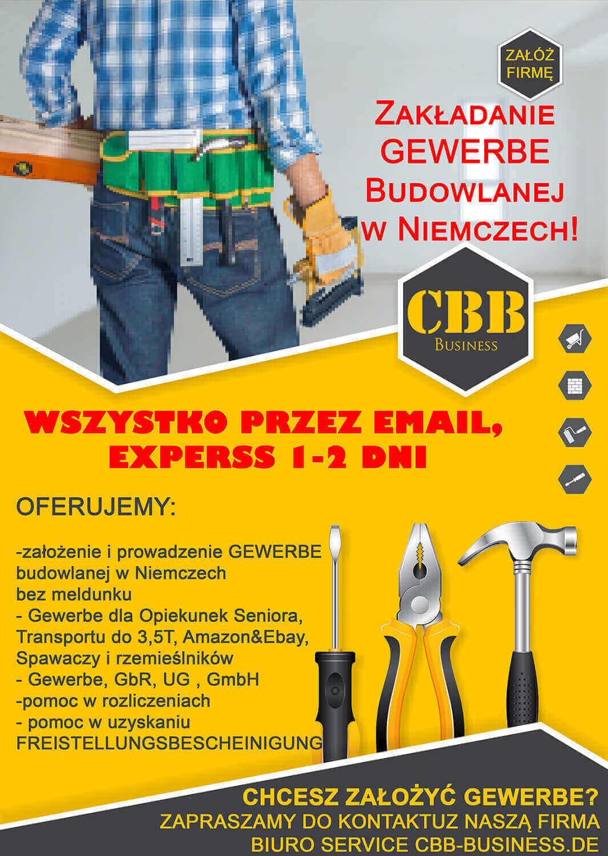 działalność gospodarcza w niemczech